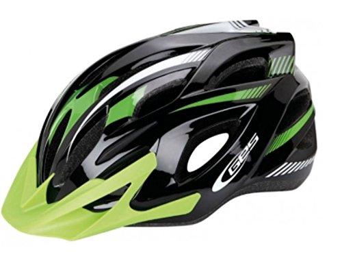Ecoshirt X8-MLB6-SN4L Casco Bike Helmet Casque Helme Ges Ray, M, L MTB...