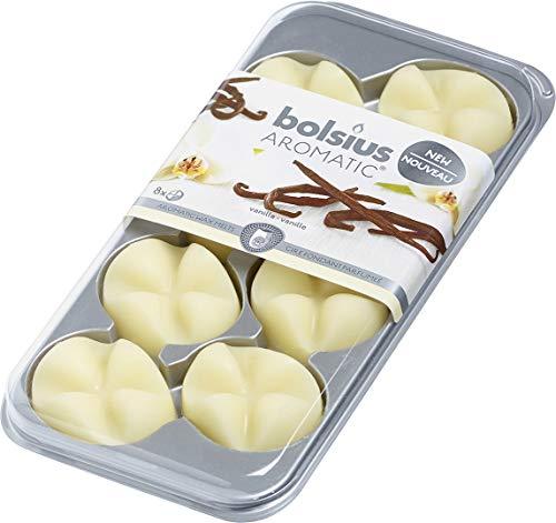 Creations Duftwachs Aroma Wachs Blätter 8 Stück ~ Vanilla ~ Blister Packung