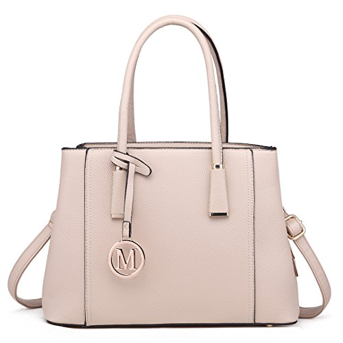 Miss Lulu Handbag Large Capacity Shoulder Bag Elegant Design Top Handle Bag For Women