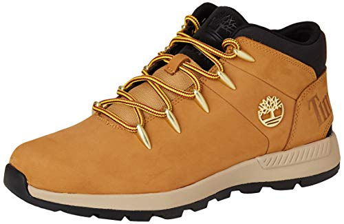 Timberland Herren Euro Sprint Trekker Chukka Boots, Gelb (Wheat Nubuck), 44 EU