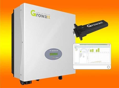 Growatt 3000S Netz Wechselrichter inklusive WiFi Modul, Plug & Play von bau-tech Solarenergie GmbH