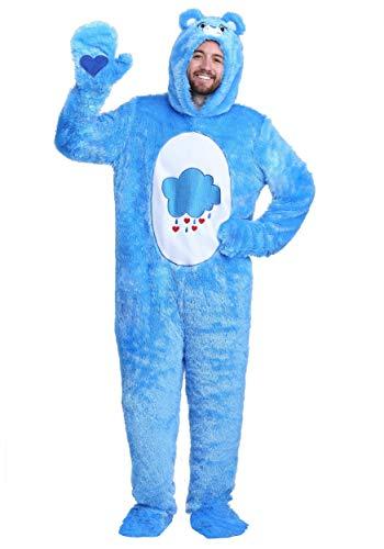 Fun Costumes Adult Plus Size Care Bears Klassische Mürrische Bärenkostüm - 2X
