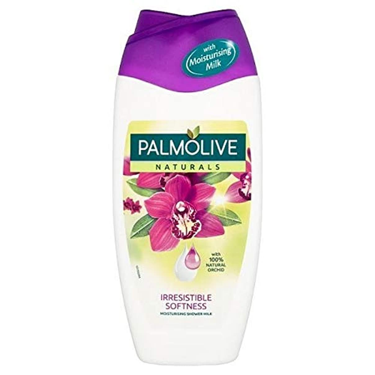 保育園定義する認識[Palmolive ] パルモライブナチュラルエキゾチックな蘭のシャワージェルクリーム250ミリリットル - Palmolive Naturals Exotic Orchid Shower Gel Cream 250ml [並行輸入品]