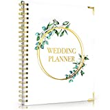 Beautiful Wedding Planner Book and Organizer - Enhance Excitement and Makes Your Countdown Planning Easy - Unique Engagement Gift for Newly Engaged Couples, Future Brides and Grooms