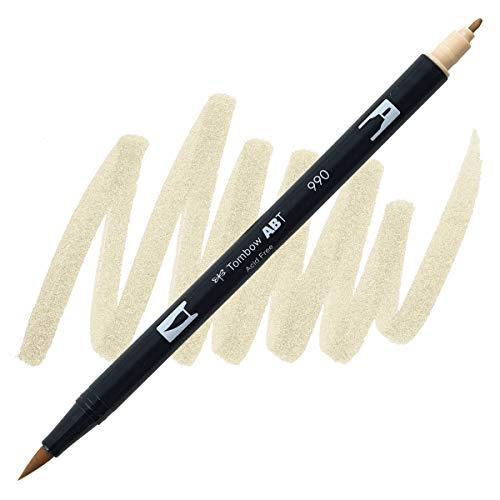 Dual Brush Pen Tombow Light Sand 990