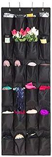 Aedo Rangement des Chaussures à Suspendre Derrière de Porte 24 Poches épargne d'espace Organisateur Collection de Chaussur...
