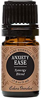 Edens Garden Anxiety Ease Essential Oil Synergy Blend, 100% Pure Therapeutic Grade (Highest Quality Aromatherapy Oils- Anxiety & Stress), 5 ml