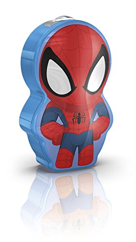 Philips Lighting , Spiderman, Torcina Luce notturna LED per bambini