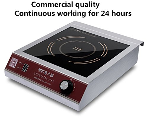 MDC 3500W Commercial Induction Cooktop