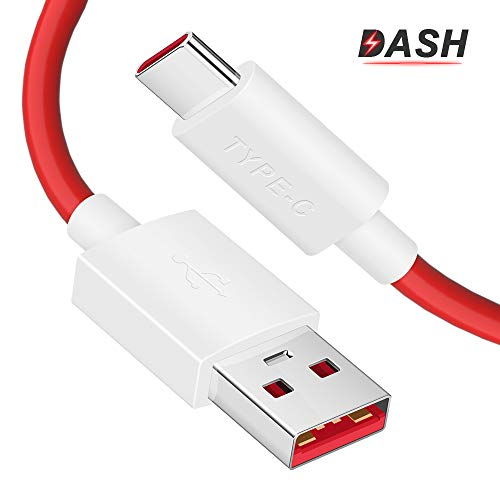 ACOCOBUY Cable USB Tipo C OnePlus 6T Cable Type C Carga Rápida 1.8M/6FTCable OnePlus Dash Charge Compatible con OnePlus 3T/3/5T/5/6T/6/7T/7/7 Pro/7T Pro/8/8Pro, VOOC Charge Cable