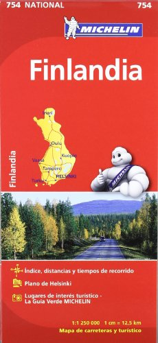 Mapa National Finlandia (Mapas National Michelin)