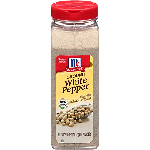McCormick Ground White Pepper (Bulk, Pure White Pepper Powder), 18 oz