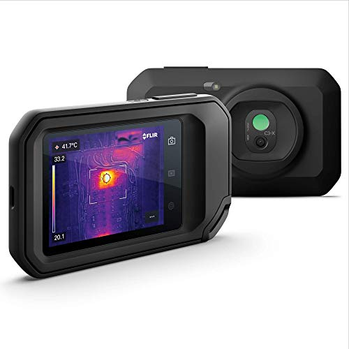 FLIR C3-X Compact Thermal Camera, Inspection Tool for Electrical/Mechanical, Building, and Maintenance Applications, with WiFi