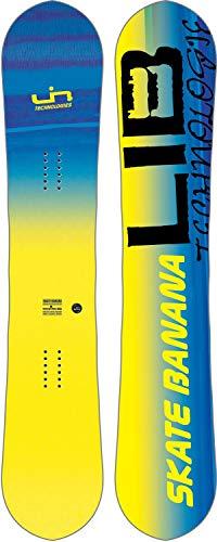 LIB Tech Herren Freestyle Snowboard Skate Banana BTX 156