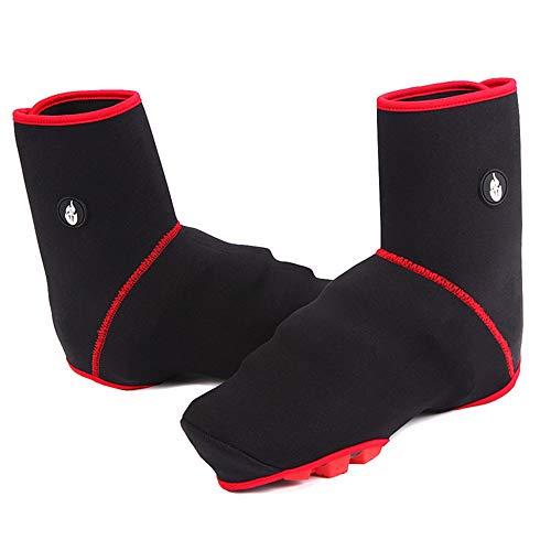 Huangjiahao-Home Couvre-Chaussures de Cyclisme Couvre-Chaussures de Protection réfléchissant imperméable à l'eau Haute température et résistant au Vent Velo Route VTT