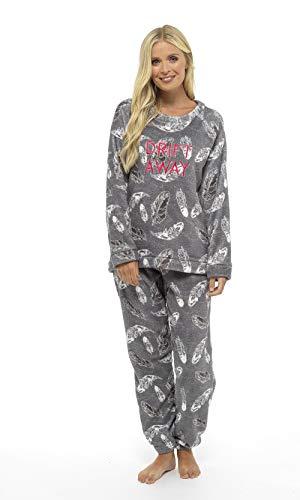 Pijama Mujer Invierno Suave Cómodo con Plumas Prosecco