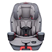 VERSATILE, 3-in-1 DESIGN: The Evolve Platinum Booster Seat offers a 3-in-1 design that can function as a harness booster, high back booster, or a no back booster seat supporting children from 22-120 pounds and infant or toddler ages of at least 12 mo...