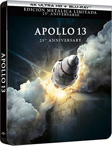 Apollo 13 - Edición Especial Metálica (4K UHD + BD) [Blu-ray]