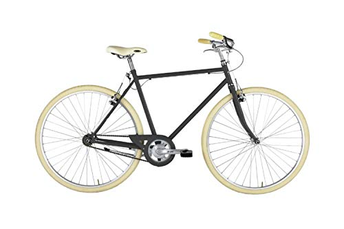 """Alpina Bike L'Ego, Bicicletta 1v Uomo, Grigio, 28"""""""
