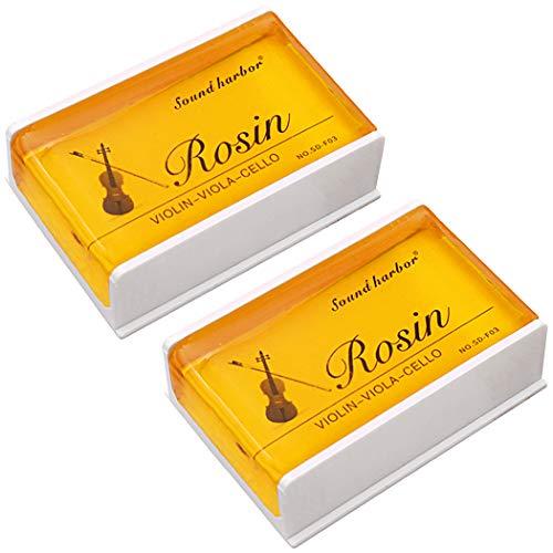 Rosin 2 pack Big size Rosin Natural Rosin for Violin