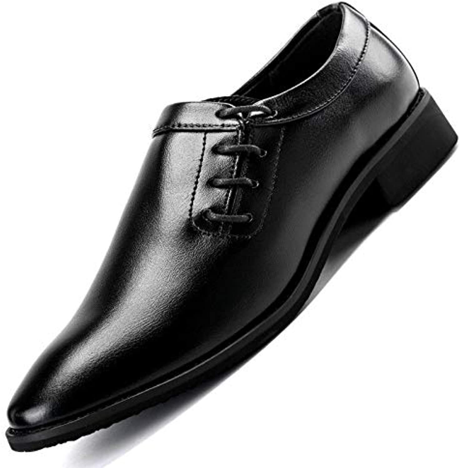 LHLWDGG.K Men'S shoes Casual Pointed Bridal shoes Men'S Leather Oxford