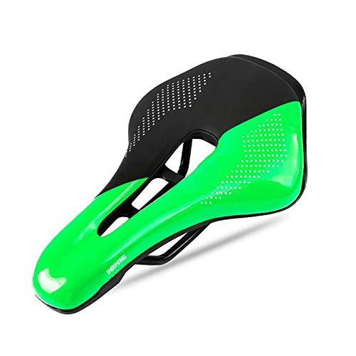 ZYZYP Sillines ultraligeros para bicicleta de montaña, bicicleta de carretera, hueco, transpirable, cómodo, cojín de asiento de bicicleta (color 3)