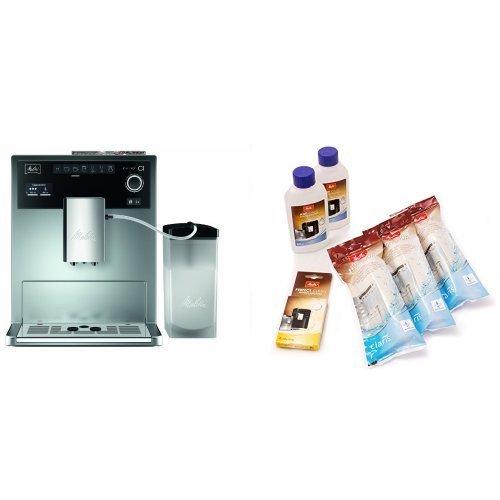 Melitta E 970-101 silber Kaffeevollautomat Caffeo CI + 6er Pflegeset