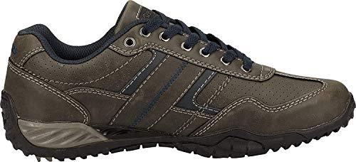 Dockers by Gerli Herren Sneaker Schwarz, Braun, Grau, Weiß, Natur, Schuhgröße:EUR 41, Farbe:Grautöne