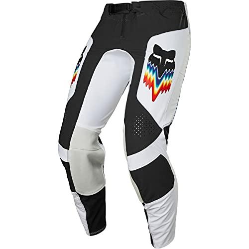 Fox Racing Herren Flexair RELM Motocross Pant Hosen, schwarz/weiß, 30