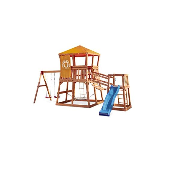 Little Tikes Real Wood Adventures Grizzly Grotto Outdoor Playset (Amazon Exclusive)