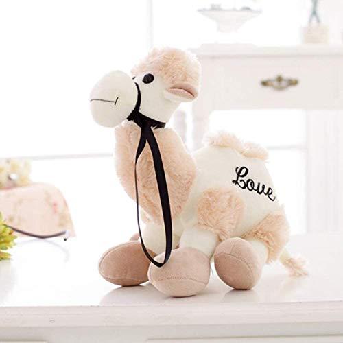 siyat Spielzeug Nette Cartoon Camel Puppe Plüschtier Toten Gefüllte PP Baumwolle Spielzeug Für Kinder Mädchen Baby Spielzeug Hellbraun 20cm Jikasifa