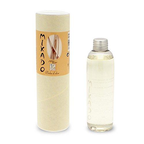 Boles d'Olor Recharge mikado de rechange Recharges Arôme Parfum jasmin blanc säbchen 200 ml