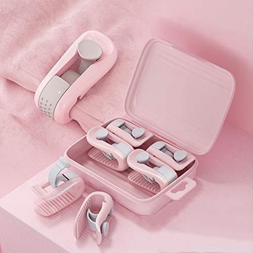 Lovecentral Bettdeckenbezug-Clips, Anti-Rutsch-Klemme ohne Nadel, 6 Stück rose