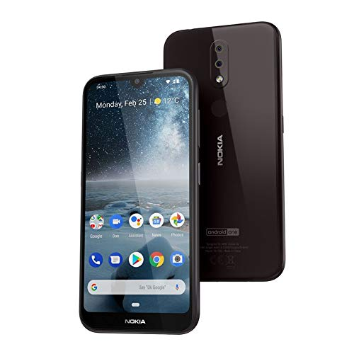 Nokia 4.2 5.7-Inch Android UK SIM Free Smartphone with 3GB RAM and 32GB Storage (Dual SIM) – Black