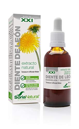 Diente de Leon XXI Extracto natural 50ml / Limpieza hepática Colesterol Diuretico
