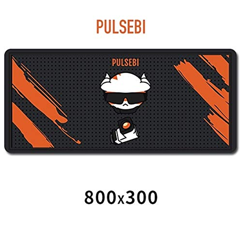 3°Amy Mouse Mat Rainbow Six Siege Mouse Pad Rubber 800x300mm Super Large Computer Mouse Pads Gaming Keyboard Mat XL #a (Color : PUL)