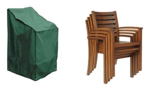 HBCOLLECTION Housse pour chaises ou Fauteuil de Jardin Format XL Premium Polyester