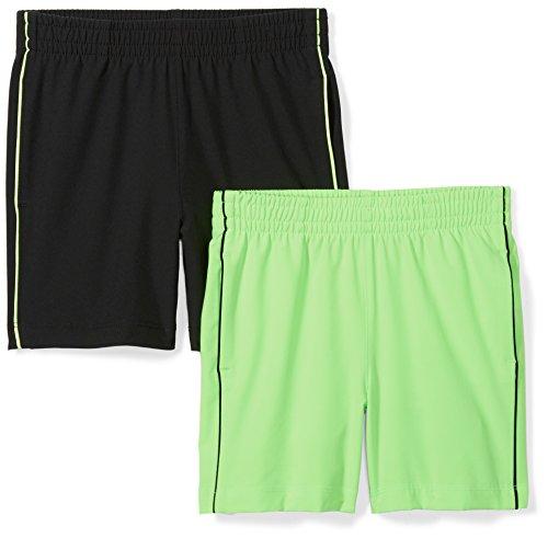 Spotted Zebra Amazon Brand – Pantalones Cortos de Tejido Activo para niños pequeños y niños, diseño…