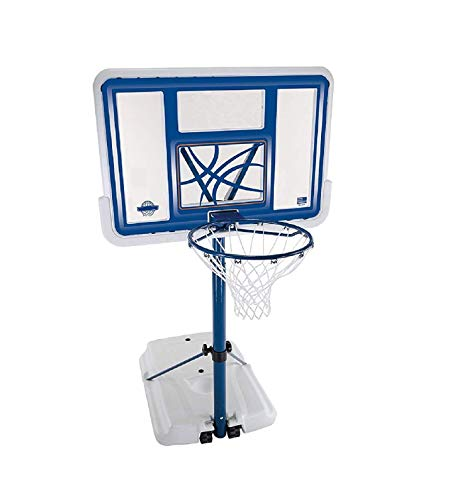 Pool Basketball Hoop Water Goal Net Backboard Poolside with Swimming