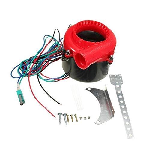 WANGXINQUAN Coche Falso Descarga electrónica Turbo Soplo Apagado la válvula de Hooter analógico Sonido bov