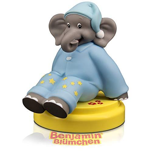 AROOSA Benjamin Blümchen LED Nachtlicht - Süßes Baby & Kind Nachtlicht mit Touch Sensor & Timer - Elefant ideal als Einschlafhilfe Stilllicht Nachtlampe Nachttischlampe für Baby- & Kinderzimmer