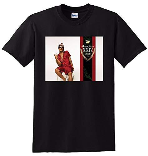Bruno Mars T Shirt 24k Magic Vinyl cd Cover Tee SMALL MEDIUM Large or XL