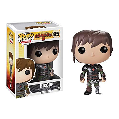 FreeStar Funko Pop Movies : How to Train Your Dragon 2 - Hiccup 3.75inch Vinyl Gift for Anime Fans Multicolur