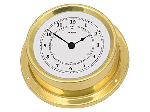 Talamex 125 strumento nautico in ottone - orologio ottone