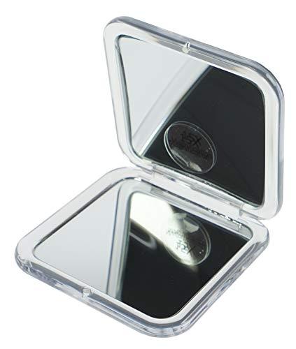 Fantasia Miroir de poche Acrylique Argenté