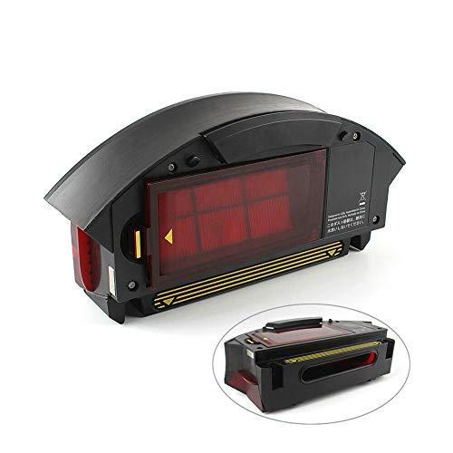 Hepa-Filterstaubsammelbox Filterbehälter-Auffangbehälter für Roomba 800 900 Serie 870 860 880 960 980 Roboter-Staubsauger-Teil, Ersatz-Staubbehälter-Teile