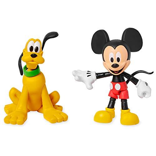 Disney Mickey Mouse y Pluto Figura de acción Set Toybox