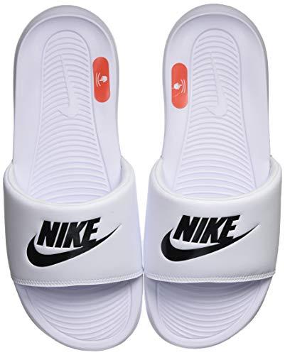 Nike VICTORI One Slide, Zapatillas Deportivas Hombre, White Black White, 41 EU