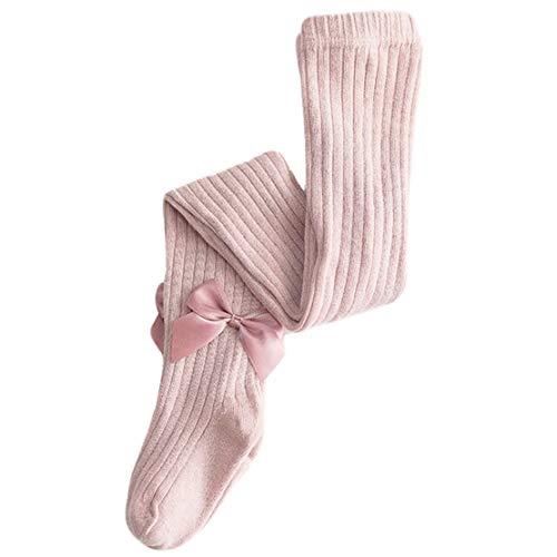 Gaga city panty baby meisjes bow gebreide panty winter thermo ondoorzichtig kinderen Neugeboren leggings 1-12 jaar
