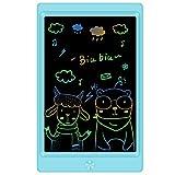 Sunany Tableta de Escritura LCD 8,5 Pulgadas, Tableta de Dibujo LCD, Writing Tablet con Teclas Borrables,Regalos para Niños, Juguete Educativo(Azul)